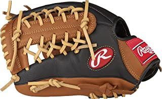 Rawlings P115GBMT-0/3 Prodigy Youth Baseball Glove, Right Hand, Modified Trap-Eze Web, 11-1/2 Inch
