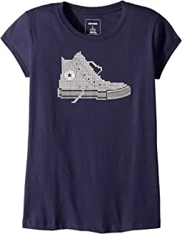 Converse Kids - Pixel Chuck Tee (Big Kids)