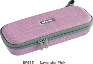 ButterFox Semi Hard Stethoscope Carry Case, fits 3M Littmann Stethoscope and Other Accessories - Available in Black, Blue, Green, Grey, Pink, Purple and Turquoise (Lavender Pink)