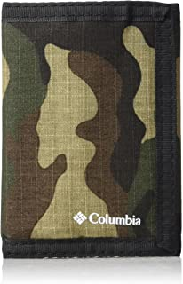 Columbia Tactical Wallets for Men - Sport RFID Blocking Nylon Trifold with Velcro with ID Window and Cash