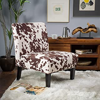 Christopher Knight Home Kalee Dining Chair, Cow Print