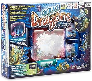Aqua Dragons Deluxe - Pecera para Dragones de Agua- Mundo Submarino Juguete Educativo, (