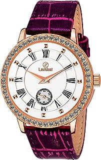 Lamkei Imported Chronograph Quartz White Dial Women Watch - LAM-1107