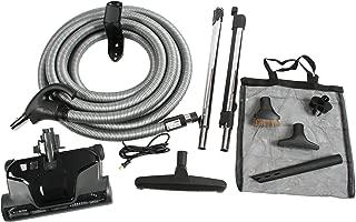 Cen-Tec Systems Central Vacuum Electric Powerhead Kit, Black