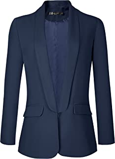 Women's Office Blazer Jacket Open Front