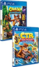 Crash Bandicoot N. Sane Trilogy - PlayStation 4 and Crash Team Racing - Nitro Fueled - PlayStation 4