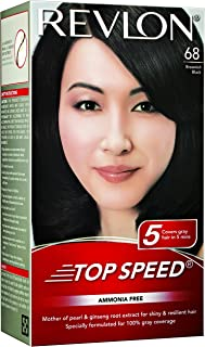 Revlon Top Speed Hair Colour (Brownish Black, 68)