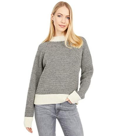 Filson Nordic Wool Sweater (Black/Cream) Women