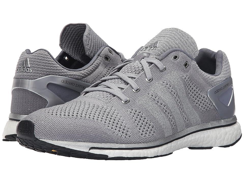 adidas Adizero Prime LTD (Mid Grey/Silver/White) Athletic Shoes