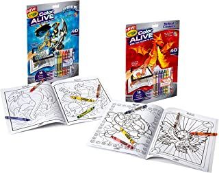 Crayola Color Alive Action Coloring Pages - Combo Set - Skylanders and Mythical Creatures