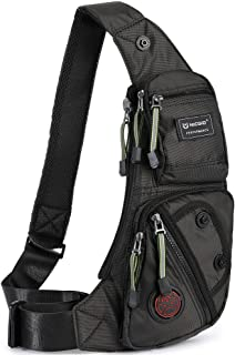 Sling Bag Chest Shoulder Backpack Fanny Pack Crossbody Bags for Men