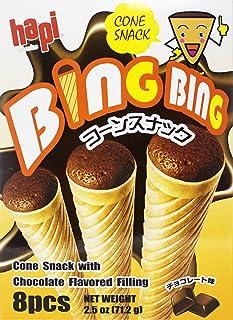 Hapi Bing Bing Ice Cream Scone Snack, Chocolate, 2.51 Ounce