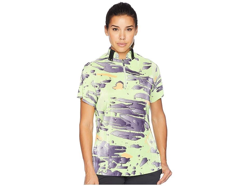 Jamie Sadock Meteorite Print Short Sleeve Top (Shockwave) Women's Short Sleeve Pullover, Multi
