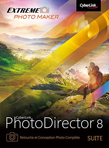 CyberLink PhotoDirector 8 Suite [Téléchargement]