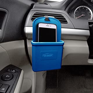 FH Group FH3022DARKBLUE Dark Blue Silicone Car Vent Mounted Phone Holder (Smartphone works with IPhone Plus Galaxy Note Dark Blue Color)