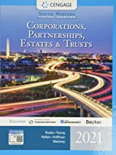 South-Western Federal Taxation 2021: Corporations, Partnerships, Estates and Trusts (Intuit ProConnect Tax Online & RIA Ch...