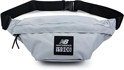 New Balance Sac Banane Taille Unique Silver Mink : Amazon.fr: Bagages