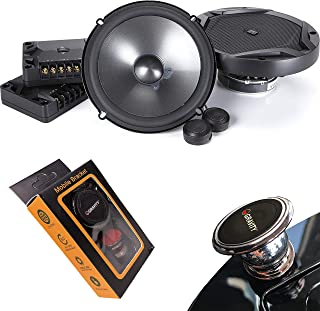 $84 » JBL GX600C 420W 6.5 Inch 2-Way GX Series Component Car Loudspeakers with Gravity Magnet Phone Holder Bundle