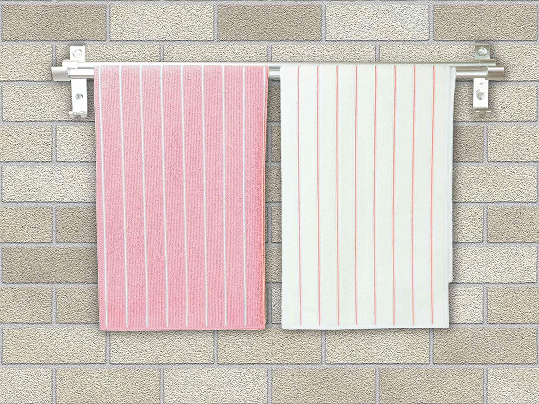 gestreift weiche super saugf/ähige und fussel freie K/üchent/ücher 45 x 65 cm Gryeer 8er-Set Microfaser Geschirrt/ücher Pink und Wei/ß