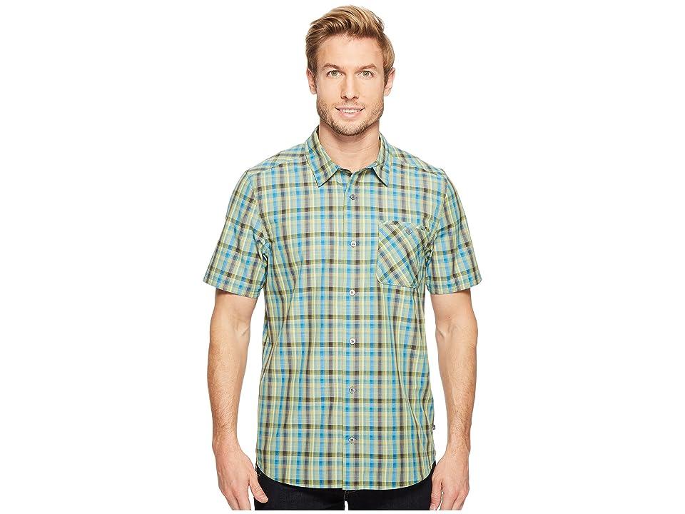 Toad&Co Ventilair Short Sleeve Shirt (Iguana) Men