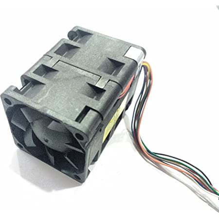 Invento 40x40x55mm Double Stage Cooling Fan 12V DC 8 wire for 3D Printer Robotics DIY