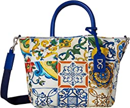 Tile Print Handbag