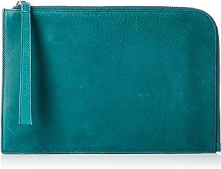 [オティアス] クラッチバッグ ポーチ カウレザー 本革 A5対応 iPadmini収納可能 カード6枚 ファスナーポケット有