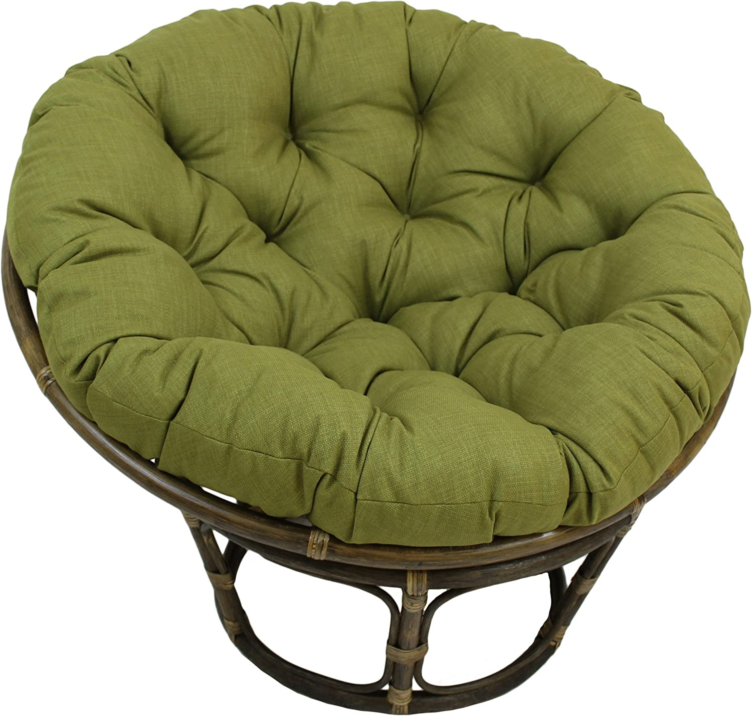 Blazing Max 90% Low price OFF Needles Solid Outdoor Spun Papasan Cushion Polyester 52