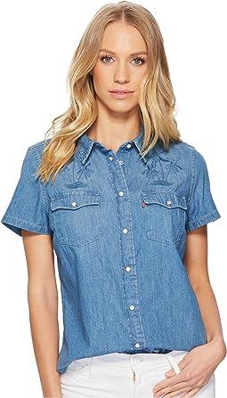 Levi's® Womens Larissa Short Sleeve Western