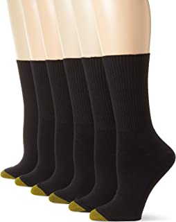 Gold Toe Women's 6-Pack Turn Cuff Sock