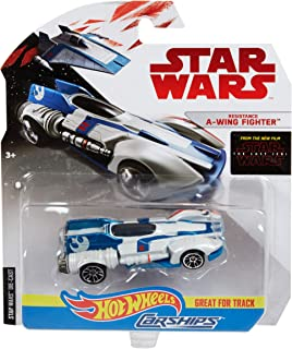 Hot Wheels Star Wars Resistance A-Wing Fighter Vehicle