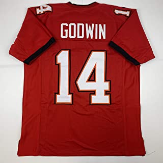Unsigned Chris Godwin Tampa Bay 2020 Red Custom Stitched Football Jersey Size XL New No Brands/Logos