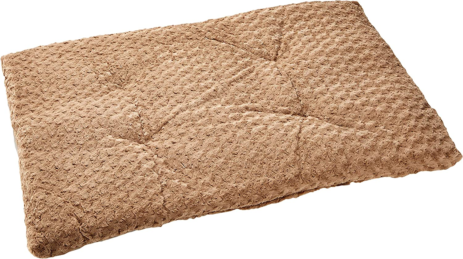 Nobby Plush Mat For Transport Cage, 113 x 75 cm, Camel Brown
