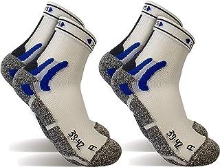 POPYS, 2 Pares Calcetines running Coolmax, calcetines de deporte