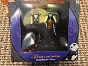 Nightmare Before Christmas Jack and Sally on Spiral Hill Top