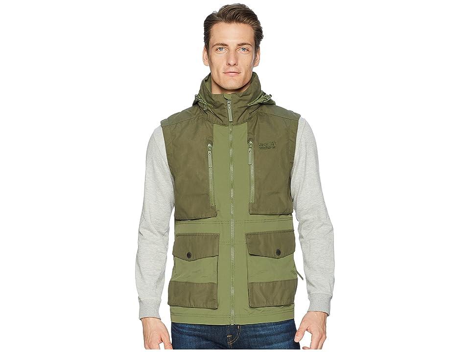 Jack Wolfskin Barstow Vest (Woodland Green) Men