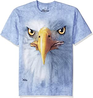 The Mountain Men's Eagle Face Adult Tee