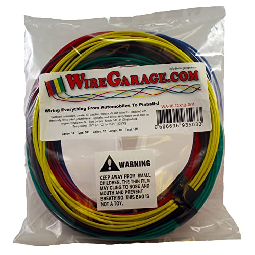 12 GXL 500 FOOT SPOOL OF GREEN HIGH TEMP AUTOMOTIVE WIRE