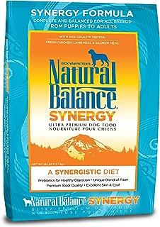 Natural Balance Synergy Formula Ultra Premium Dog Food, 28-Pound Bag