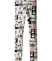 Fendi Kids - All Over Comic Print Leggings (Big Kids)