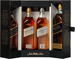 Johnnie Walker Collection Pack Blended Scotch Whisky 4 x 0.2 l