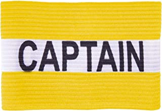 Crown Sporting Goods Captain Armband | Adult Team Sports Athletic Accessory | One-Size Elastic Player Band for College, In...