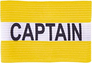 Crown Sporting Goods Captain Armband | Adult Team Sports Athletic Accessory | One-Size Elastic Player Band for College, Intramural, Recreational, Indoor & Outdoor, Soccer & Basketball