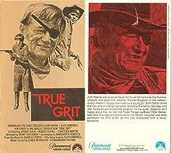 True Grit VHS
