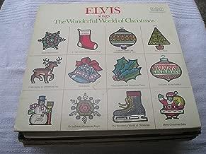 Best elvis sings the wonderful world of christmas vinyl Reviews