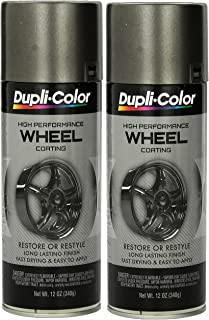 Dupli-Color HWP102 Graphite High Performance Wheel coating - 12 oz (2 PACK)