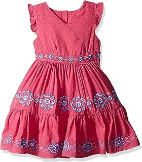 Nannette - Vestido de Punto para niña con diseño de Boho Bordado