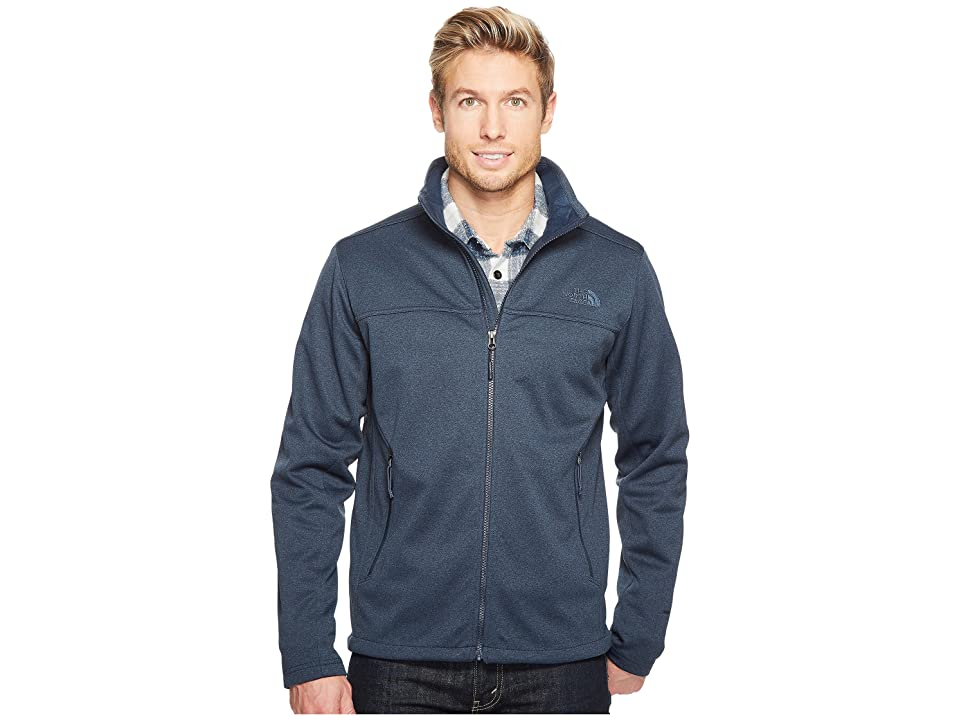 The North Face Apex Canyonwall Jacket (Urban Navy Heather/Urban Navy Heather) Men
