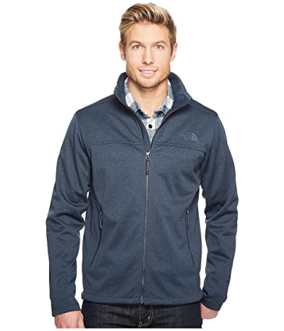 The North Face Apex Canyonwall Jacket (Urban Navy Heather/Urban Navy Heather) Men