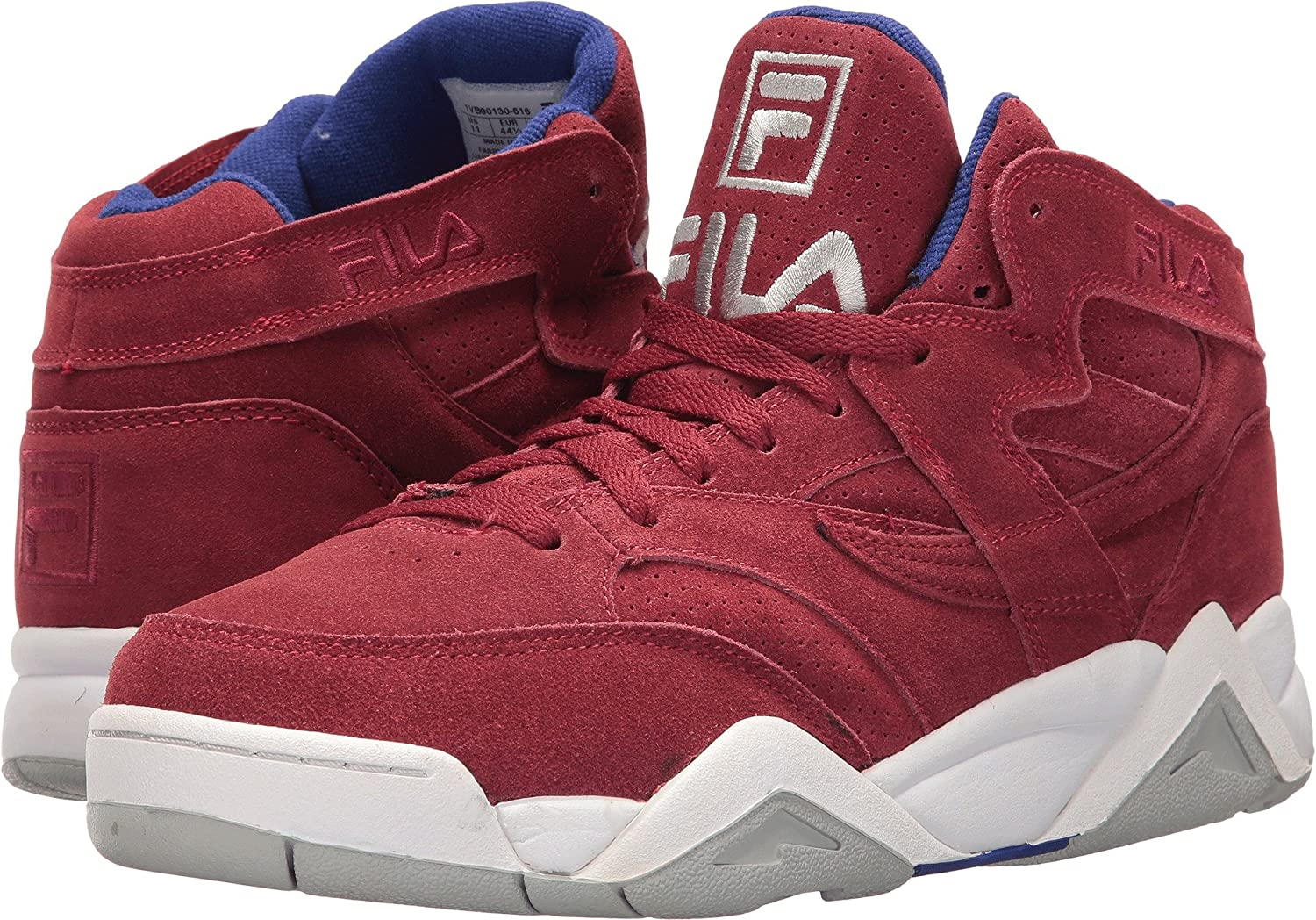 Fila Men's M Squad Red blueee White Basketball shoes